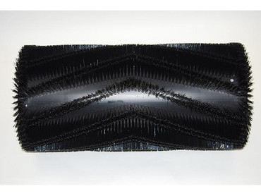 Bürstenwalze für Hako Jonas 980, Nylon 0,6 mm glatt schwarz  – Bild 1