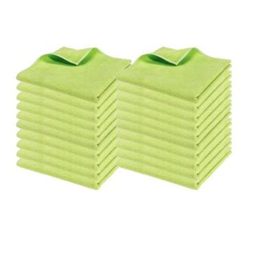 Microfaser Basic grün, 210 Gramm