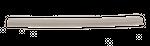 Ersatzlippe  für Nassbodendüse für Sprintus Artos