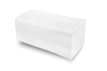 Papierhandtuch 2-lagig, 24 x 21 cm, hochweiß, 3200 Blatt V-Falz – Bild 2