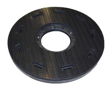 Treibteller für Comac 4017 - Vollhaftbelag schwarz ohne Moosgummi