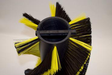 Bürstenwalze für Echo ER 1200, Poly 0,5 mm schwarz und Ela 1,0 mm gelb – Bild 3