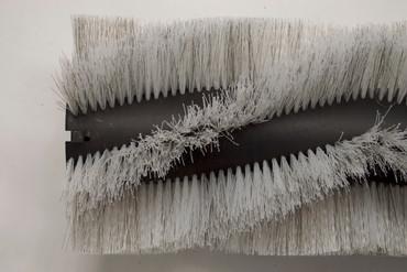 Bürstenwalze für Taski Balimat 130, Poly 0,7 mm gewellt weiß gemischt mit Welldraht 0,4 mm verzinkt – Bild 5