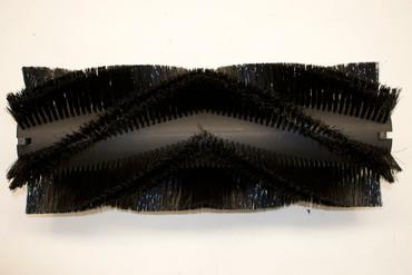 Bürstenwalze für Amros 680 / 700 / 702 Nylon 0,6 mm glatt schwarz  – Bild 1