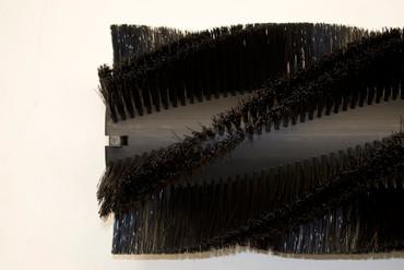 Bürstenwalze für Amros 680 / 700 / 702 Nylon 0,6 mm glatt schwarz  – Bild 5