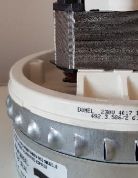 Saugmotor für Kärcher NT 361-2, Domel MKM 7586 - 492.3.586/2 – Bild 2