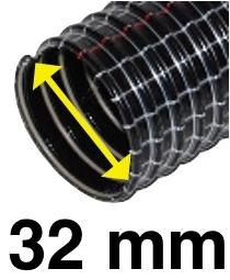 Saugschlauch Standard, Innendurchmesser32 mm, 20 Meter – Bild 2