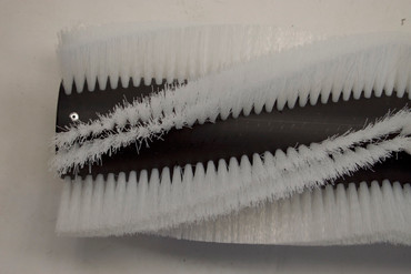 Bürstenwalze für Dulevo 71 / 72 / 74 / 75, Poly 0,5 mm gewellt weiß  – Bild 5
