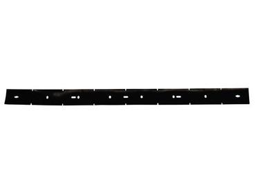 Sauglippe vorne für Nilfisk BA 601, schwarz