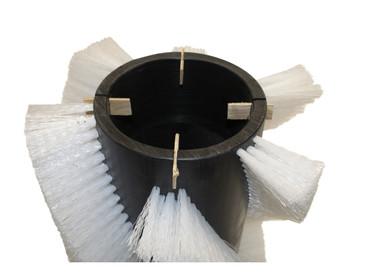Bürstenwalze für Wayne 628 / 728, Poly 0,75 mm glatt schwarz  – Bild 3