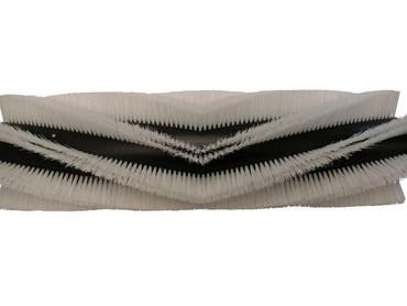 Bürstenwalze für Hako Armadillo 9 Poly 1,2 mm gewellt weiß – Bild 1