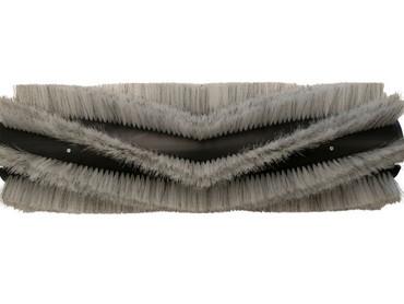 Bürstenwalze für Hako Hakomatic 1800 Nylon 1,0 mm glatt weiß – Bild 1