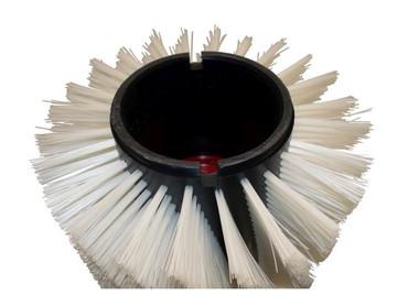 Bürstenwalze für Power-Boss Armadillo SW 9 Nylon 1,0 mm glatt weiß  – Bild 4