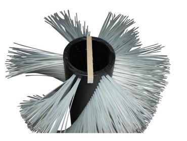 Bürstenwalze für Kenter Sweep 100 AHB/AHD Nylon 1,2 mm glatt schwarz  – Bild 4
