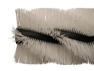 Bürstenwalze für Kenter Sweep 100 AHB/AHD, Poly 1,6 mm gewellt weiß  – Bild 5