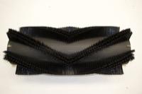 Bürstenwalze für Wayne 828 Nylon 0,6 mm glatt schwarz  – Bild 1