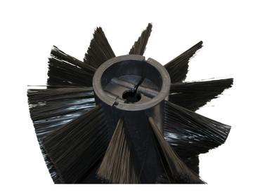 Bürstenwalze für WAP BK 900 / KSE 770 / KSP 770, Poly 0,4 mm glatt schwarz  – Bild 3