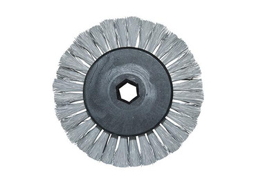 Bürstenwalze für Allclean R 2, Poly 0,12 mm glatt grau  – Bild 4