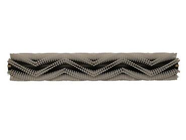 Bürstenwalze für RCM Jumbo 872 Reihen spiralförmig, Poly 0,45 mm glatt weiß  – Bild 1