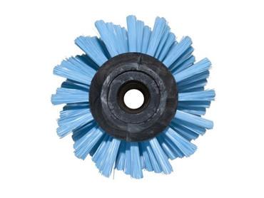 Bürstenwalze für Henkel Floormatic 452 BW, Poly 0,3 mm glatt blau, 16 Reihen  – Bild 4