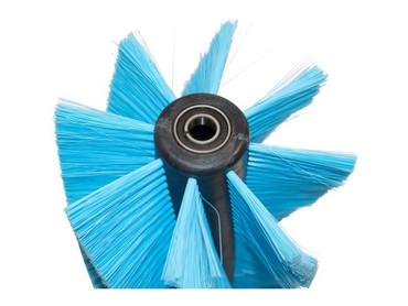 Bürstenwalze für Ecologica 520, Poly 0,3 mm glatt blau  – Bild 3