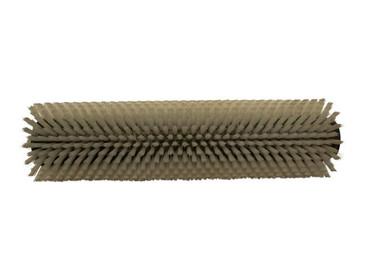 Bürstenwalze für Nilco BA 10-33 E Nylon 0,4 mm glatt weiß  – Bild 1
