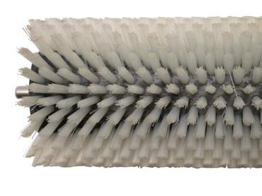 Bürstenwalze für Nilco BA 18-33 B Nylon 0,4 mm glatt weiß  – Bild 5