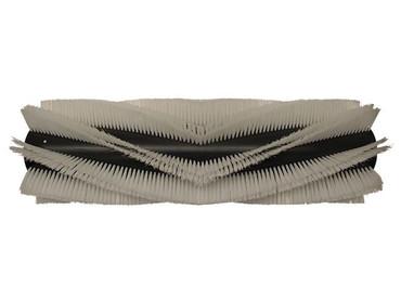Bürstenwalze für Floorpul ECO 48, Poly 0,75 mm glatt weiß  – Bild 1