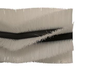 Bürstenwalze für Amros 460, Poly 0,7 mm gewellt weiß  – Bild 2