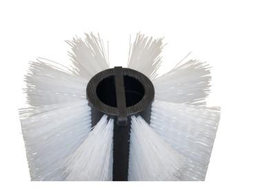 Bürstenwalze für Tecnova Pulistar, Poly 0,7 mm gewellt weiß  – Bild 4