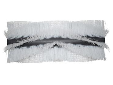 Bürstenwalze für RCM 600 Brava, Poly 0,7 mm gewellt weiß  – Bild 1
