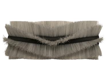 Bürstenwalze für Floor Practica 850, Poly 0,7 mm gewellt weiß gemischt mit Welldraht 0,4 mm verzinkt – Bild 1