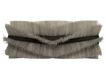 Bürstenwalze für RCM 600 Brava, Poly 0,7 mm gewellt weiß gemischt mit Welldraht 0,4 mm verzinkt – Bild 1