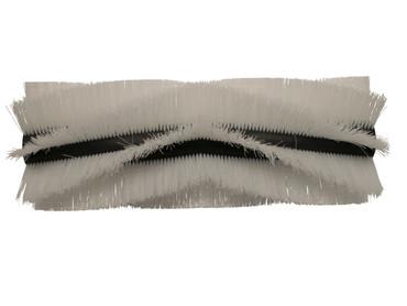 Bürstenwalze für RCM 700 Brava / Fyonda, Poly 0,7 mm gewellt weiß  – Bild 1