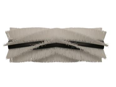 Bürstenwalze für Amros 660 / 720, Poly 1,0 mm glatt weiß  – Bild 1