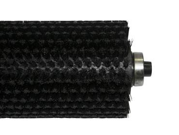 Bürstenwalze für Nilco ECO 35 (bis Bj. 2005)p, Poly 0,2 mm glatt schwarz  – Bild 2