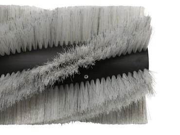 Bürstenwalze für Dulevo 1100, Poly 0,7 mm gewellt weiß gemischt mit Welldraht 0,4 mm verzinkt – Bild 2