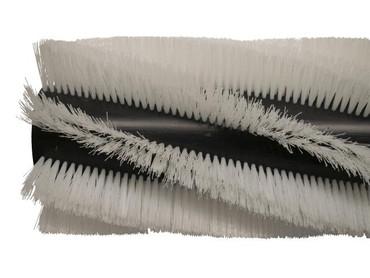 Bürstenwalze für Dulevo 120 Elite / 1850/120 Elite, Poly 1,2 mm gewellt weiß  – Bild 5