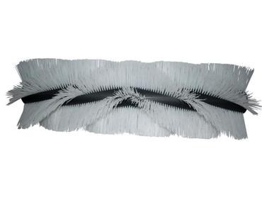 Bürstenwalze für Kenter Sweep 120 AHD, Poly 1,6 mm gewellt weiß  – Bild 1