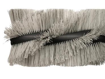 Bürstenwalze für Kenter Sweep 120 AHD, Poly 1,6 mm gewellt weiß gemischt mit Welldraht 0,5 mm verzinkt – Bild 5