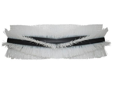 Bürstenwalze für Cleansweep CS 4100, Poly 0,7 mm gewellt weiß  – Bild 1