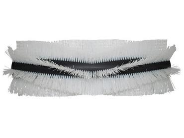 Bürstenwalze für Stolzenberg Tandem KSE 1000 / Tandem KSV 1, Poly 0,7 mm gewellt weiß  – Bild 1