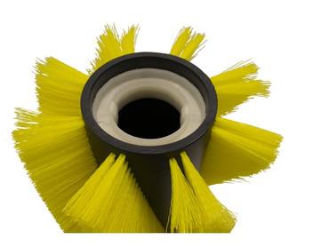 Bürstenwalze für Dulevo 100 Elite, Poly 0,8 mm gewellt gelb – Bild 3