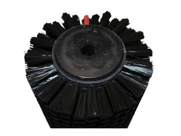Bürstenwalze für Wizzard W 34, Poly 0,2 mm glatt schwarz  – Bild 3