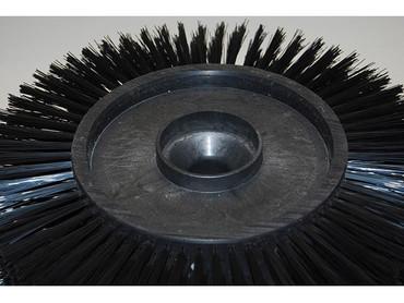 Bürstenwalze für Minuteman KS 40 E Nylon 0,6 mm glatt schwarz  – Bild 4