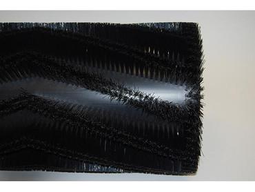 Bürstenwalze für Minuteman KS 40 R, Nylon 0,6 mm glatt schwarz  – Bild 2