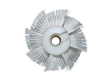Bürstenwalze für Cimex X 46Nylon 0,5 mm glatt weiß  – Bild 4