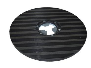 Treibteller für Sorma Kobra 3000 / 3100 - Streifenhaftbelag mit Moosgummi – Bild 1