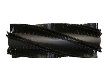 Bürstenwalze für Hako Hamster 1000 E/V Poly 0,5 mm glatt schwarz / Welldraht 0,3 verzinkt – Bild 1