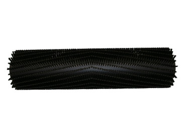 Bürstenwalze für Tennant 528Nylon 0,5 mm glatt schwarz  – Bild 1